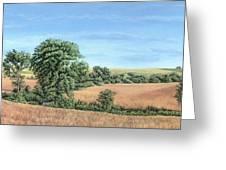 I-74 Soybean Field Greeting Card