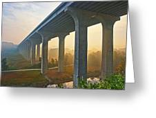 I-80 In Cuyahoga Valley National Park Greeting Card
