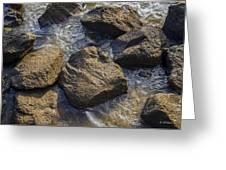 I Am A Rock Greeting Card