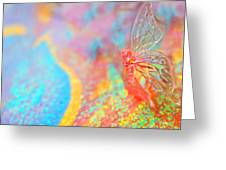 I Am Butterfly V2 Greeting Card