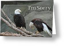 I Am Sorry Greeting Card