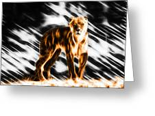 I Am The Lioness Greeting Card