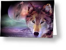 I Am Wolf Greeting Card