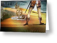 I Believe In Fairy Tales Greeting Card