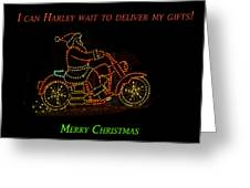 I Can Harley Wait Greeting Card