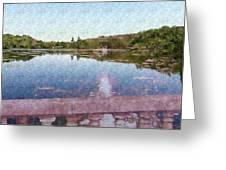 I Dreamed Of A Lake Greeting Card
