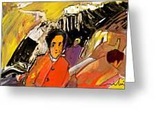 I Dreamt Of Oscar Wilde Greeting Card