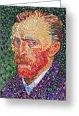 I Heart Van Gogh Portrait Of Vincent Greeting Card