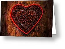 I Love Coffee 4 Greeting Card