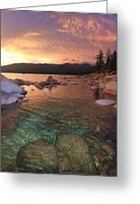 I Love Lake Tahoe Greeting Card
