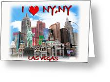 I Love Ny Ny Greeting Card
