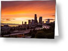 I Love Seattle Greeting Card