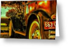 I Love This #classiccar Photo I Took In Greeting Card