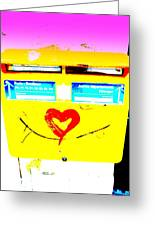 I Love You ... French Mailbox Style  Greeting Card