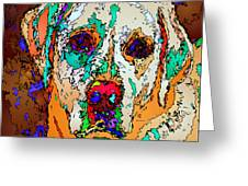 I Love You. Pet Series Greeting Card