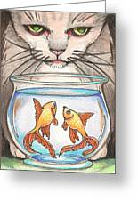 I Loves Fishes Greeting Card