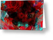 I Named You Rose Greeting Card