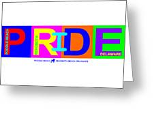 I Put The Pride In Color Greeting Card