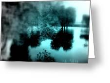 I Riflessi Della Nebbia Greeting Card