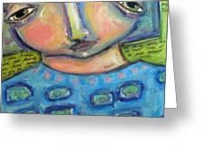 I See Myself Love Greeting Card