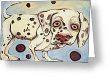 I See Spots Greeting Card