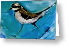 I See You Said The Killdeer As She Passed By Greeting Card
