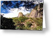 Iao Valley Greeting Card