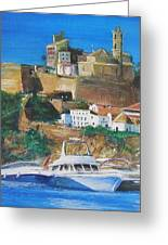 Ibiza Town  Greeting Card