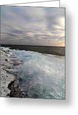 Ice 2018 # 7 Greeting Card