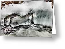 Ice 3 Greeting Card