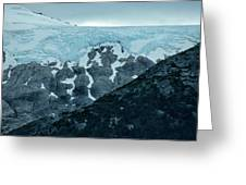 Ice And Rock Greeting Card
