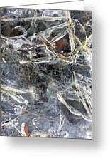 Ice Art I Greeting Card
