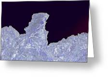 Ice Cliff  Greeting Card