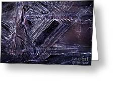 Ice-cold Gothic Night Greeting Card