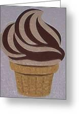 Ice Cream Emoji Greeting Card