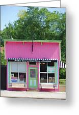 Ice Cream Parlor Greeting Card