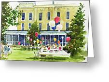 Ice Cream Social And Strawberry Festival, Lakeside, Oh Greeting Card