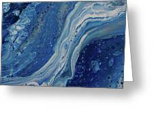 Ice Currents Greeting Card