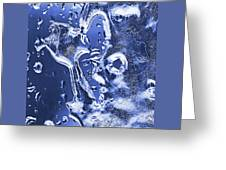Ice Patterns 1  Greeting Card