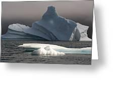 Ice Pinacle Greeting Card by Elisabeth Van Eyken