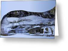 Ice Plane Greeting Card