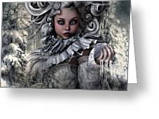Ice Princess 004 Greeting Card