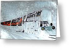 Ice Queen Express Greeting Card