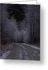 Ice Road Greeting Card