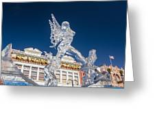 The Annual Ice Sculpting Festival In The Colorado Rockies, The Allure Of A Siren Greeting Card