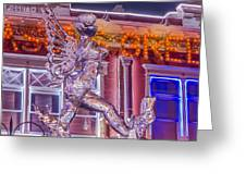 The Annual Ice Sculpting Festival In The Colorado Rockies, The Beguiling Siren Greeting Card