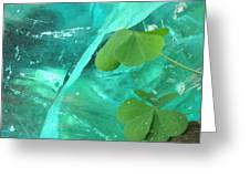 Ice Stone Greeting Card