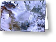 Ice Throne Greeting Card