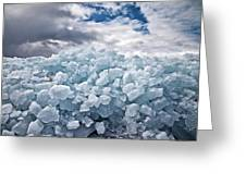 Ice Wall Greeting Card