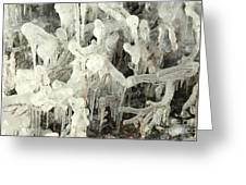 Ice Works Greeting Card